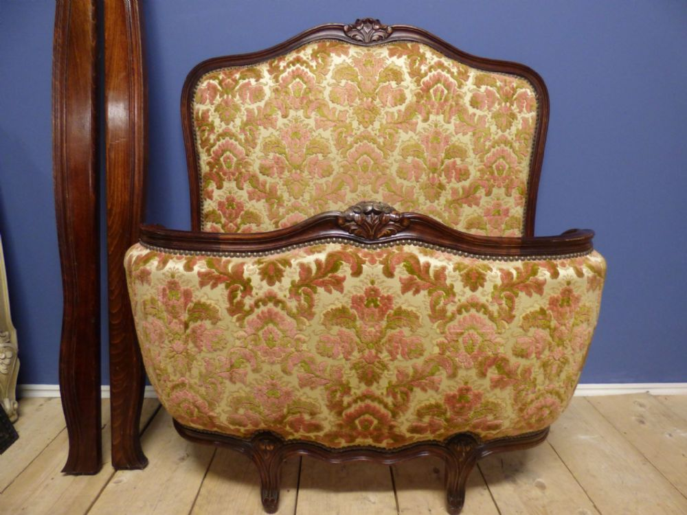Great Vintage French Single Bed - one of a pair